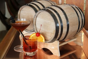 Casa del Mar hotel is offering visitors barrel-aged cocktails. Folks can purchase their own barrels, starting at $500 a pop.(Photo courtesy Casa del Mar)