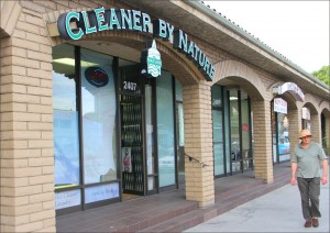 Cleaner By Nature dry cleaners is among a group of establishments that have been told by City Hall to stop making claims that their process of cleaning clothes is environmentally friendly. (Photo by Daniel Archuleta)
