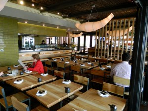 With plenty of seating, high-ceilings and views of the Pacific Ocean, Bamboo Izakaya is set up perfectly for large groups looking to have a few drinks after a hard day at the office.                     (John Blanchette editor@smdp.com)
