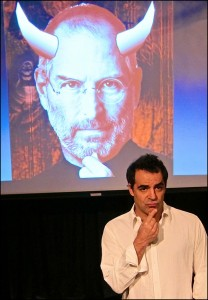Alex Lyras in 'The Agony and the Ecstasy of Steve Jobs.'