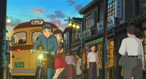 ANIMATED FLICK: Opening this week at the Landmark Theatres in West L.A. and expected to open next week at Laemmle's Monica 4-Plex is a beautiful, simple and moving animated feature from G-Kids, distributors of animated and youth-oriented films, called 'From Up on Poppy Hill.' (Photo courtesy Studios Ghibli)