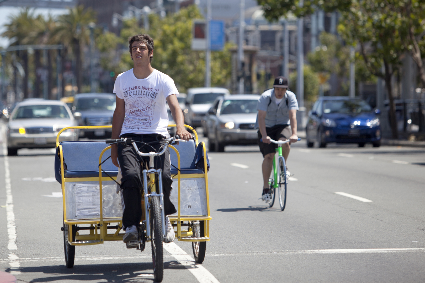 Pedicabs Get Council Approval With Reservation Santa Monica Daily Press