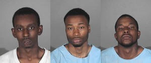 (Left to right) Donya Shannon Conner, Delina Frank Banks, Darveyon Terrell Davis (Photos courtesy SMPD)