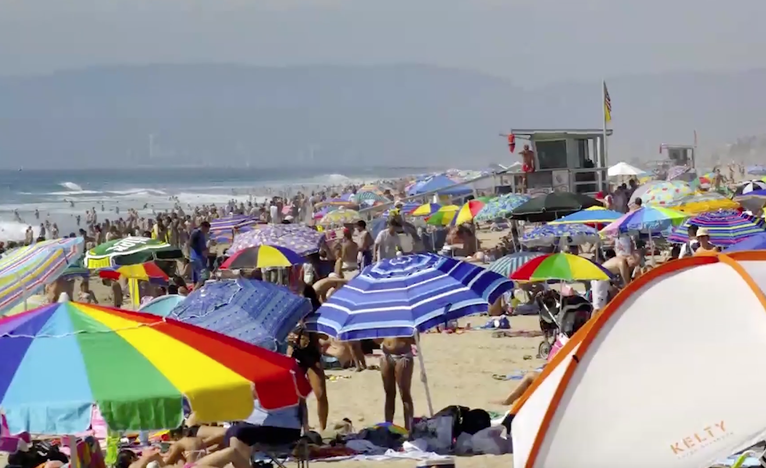 Council Could Require Permits For Large Groups Using Santa Monica Beaches