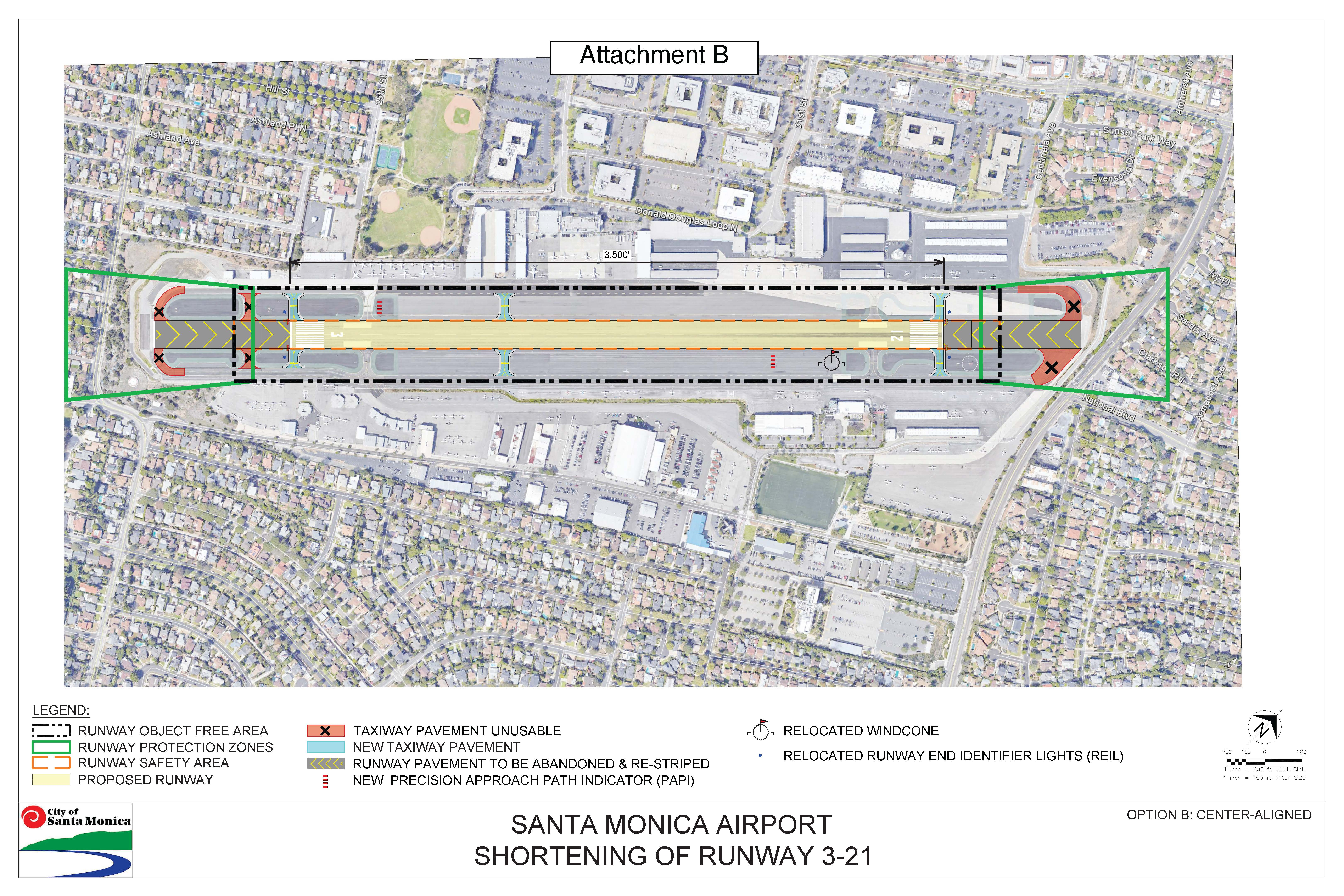 Airport Runway to be chopped at both ends - Santa Monica ...