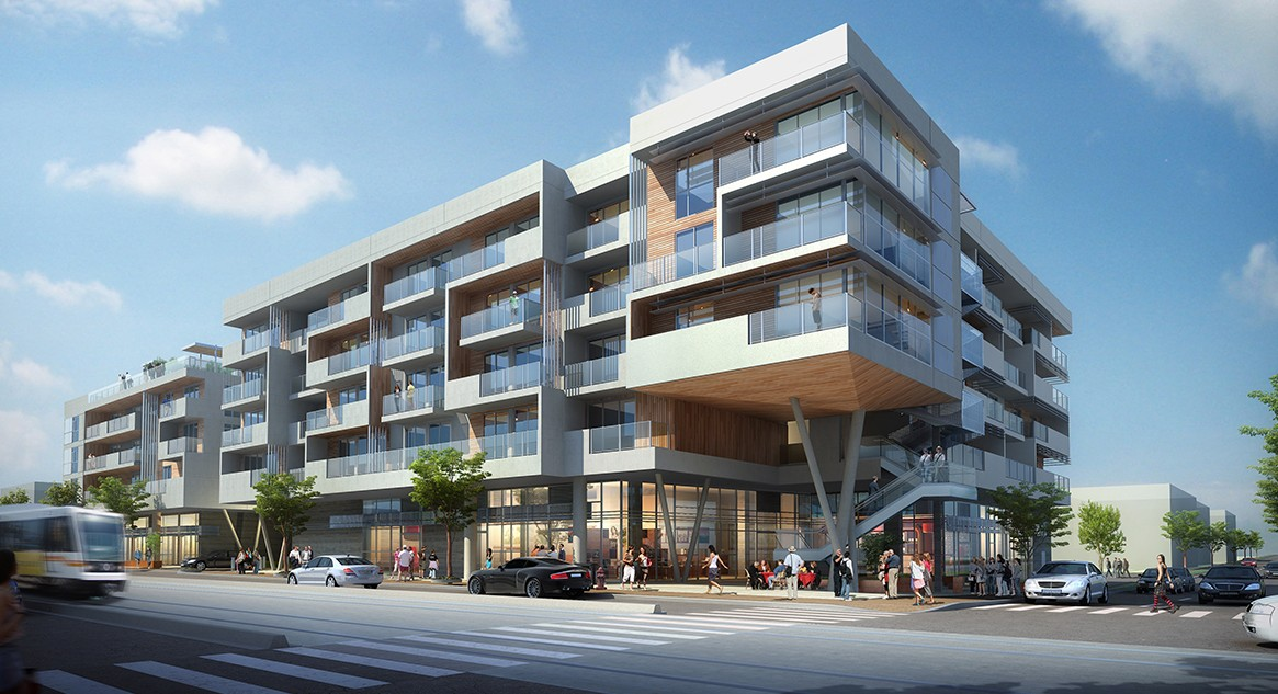 Construction Begins On New Apartments Lincoln Blvd