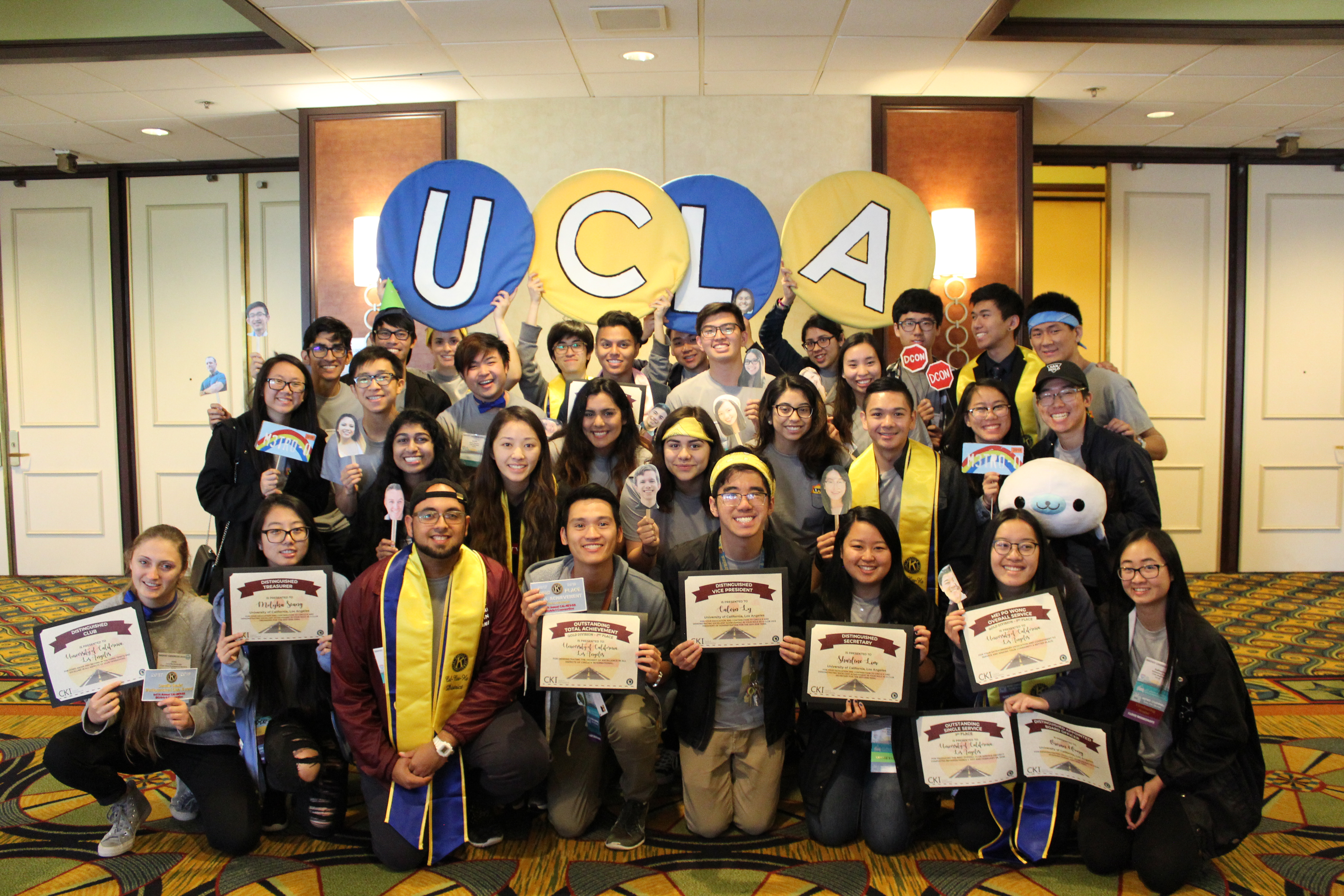 UCLA Receives Multiple Awards at 2018 Kiwanis Youth Convention