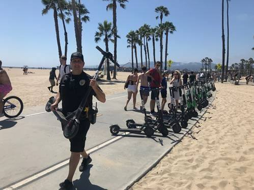 Los Angeles May Temporarily Ban Shared Electric Scooters Santa Monica Daily Press