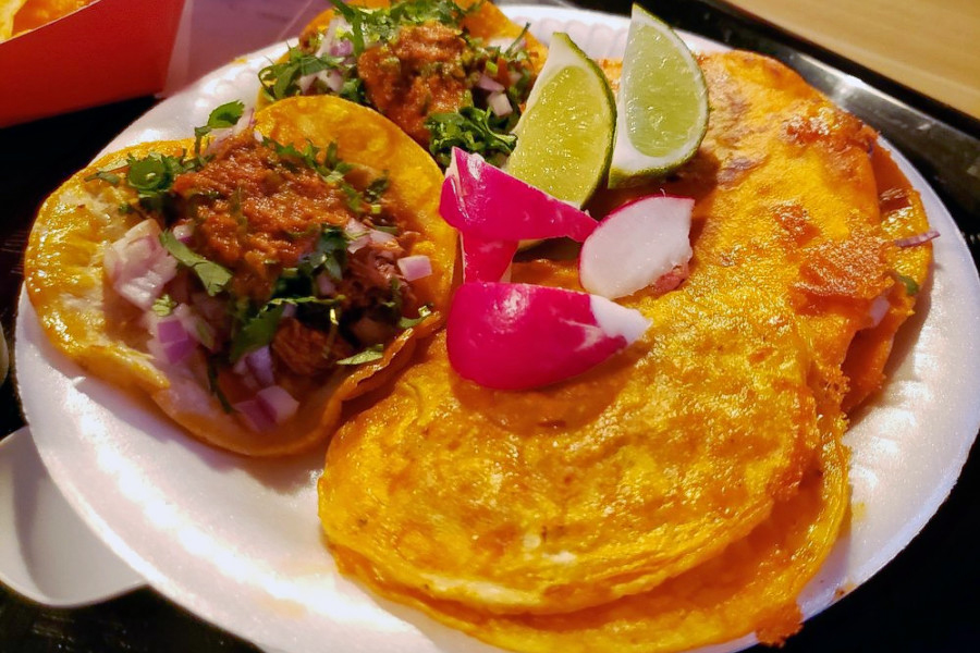Teddy S Red Tacos As Reviewed In The Los Angeles Times