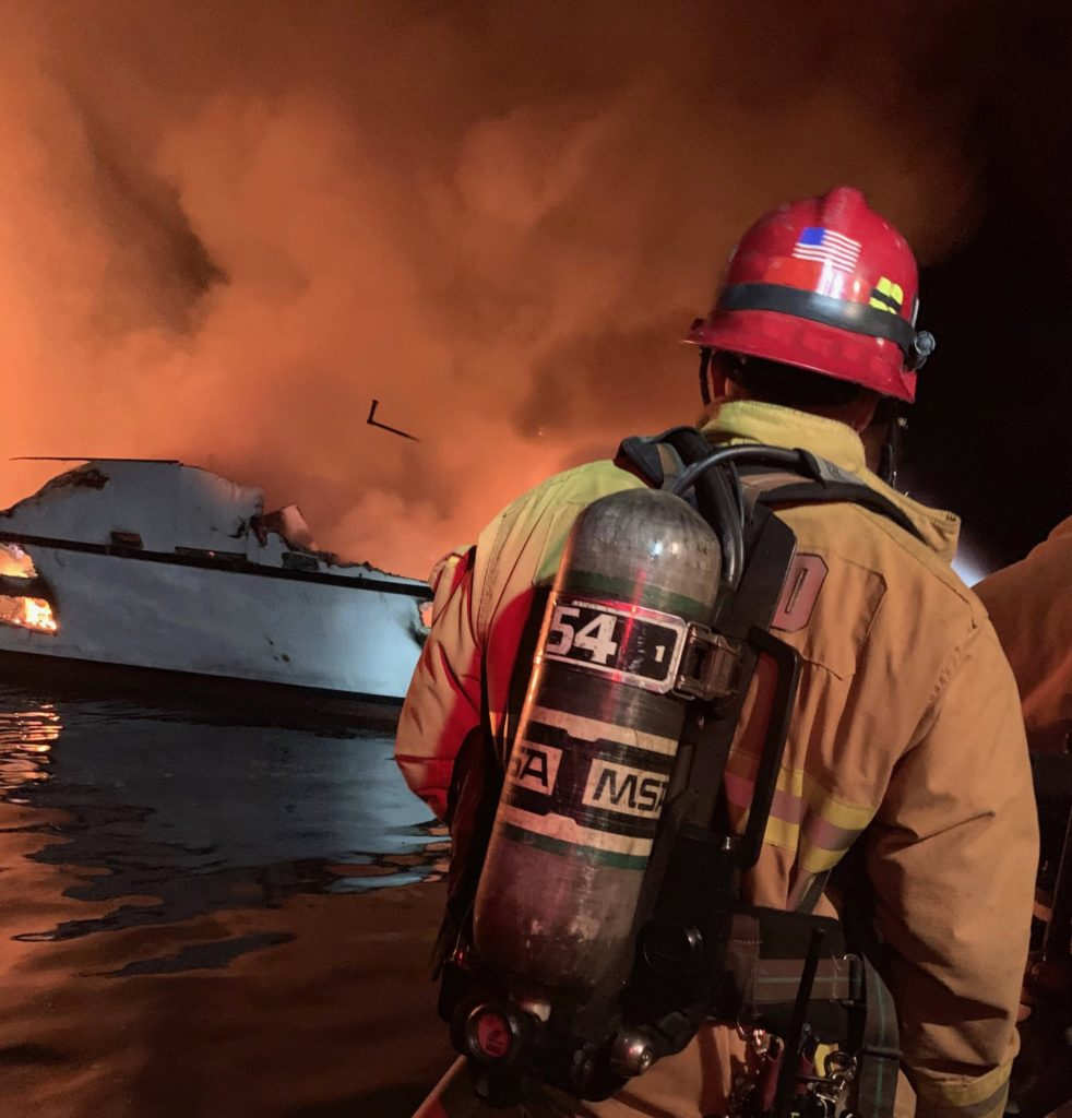34 presumed dead after fire on scuba diving boat -