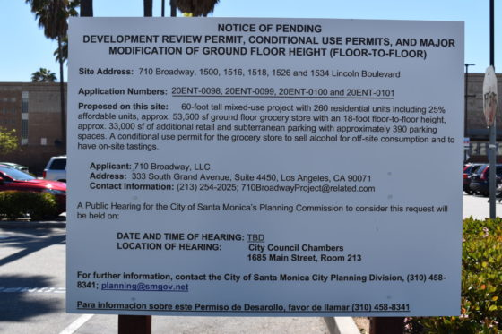 Downtown Santa Monica Vons to be replaced with five-story apartment building