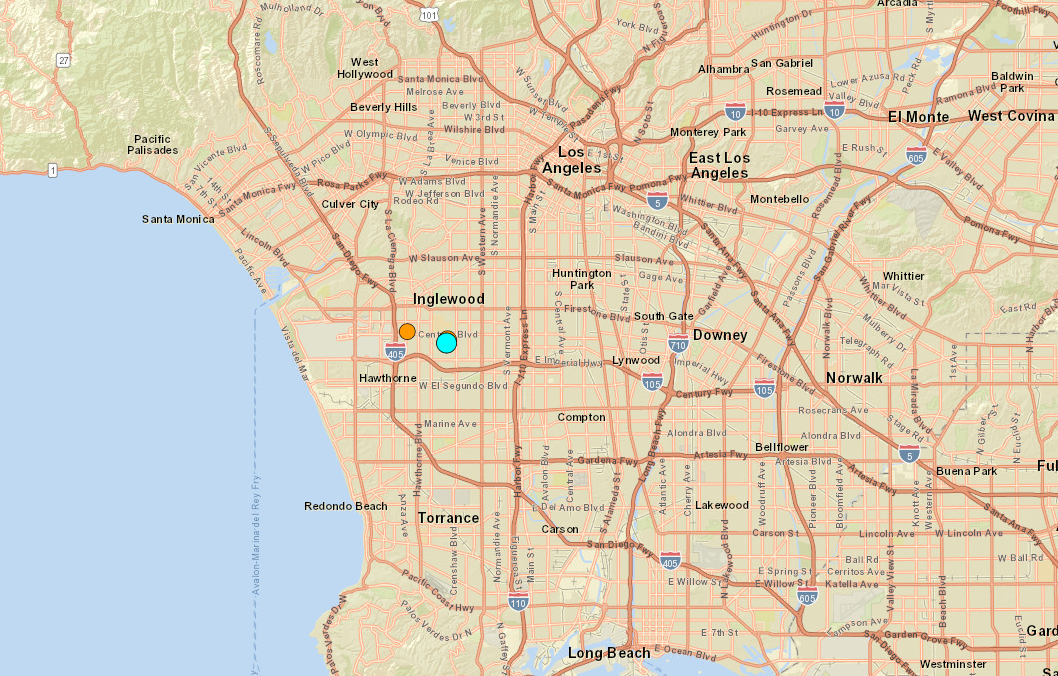 Los Angeles area rattled by trio of earthquakes